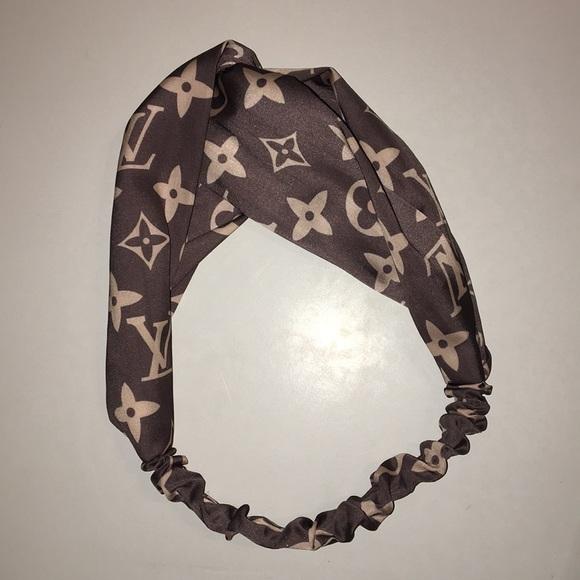 Louis Vuitton Accessories - Louis Vuitton Supreme Gray Headband f394b5e9866
